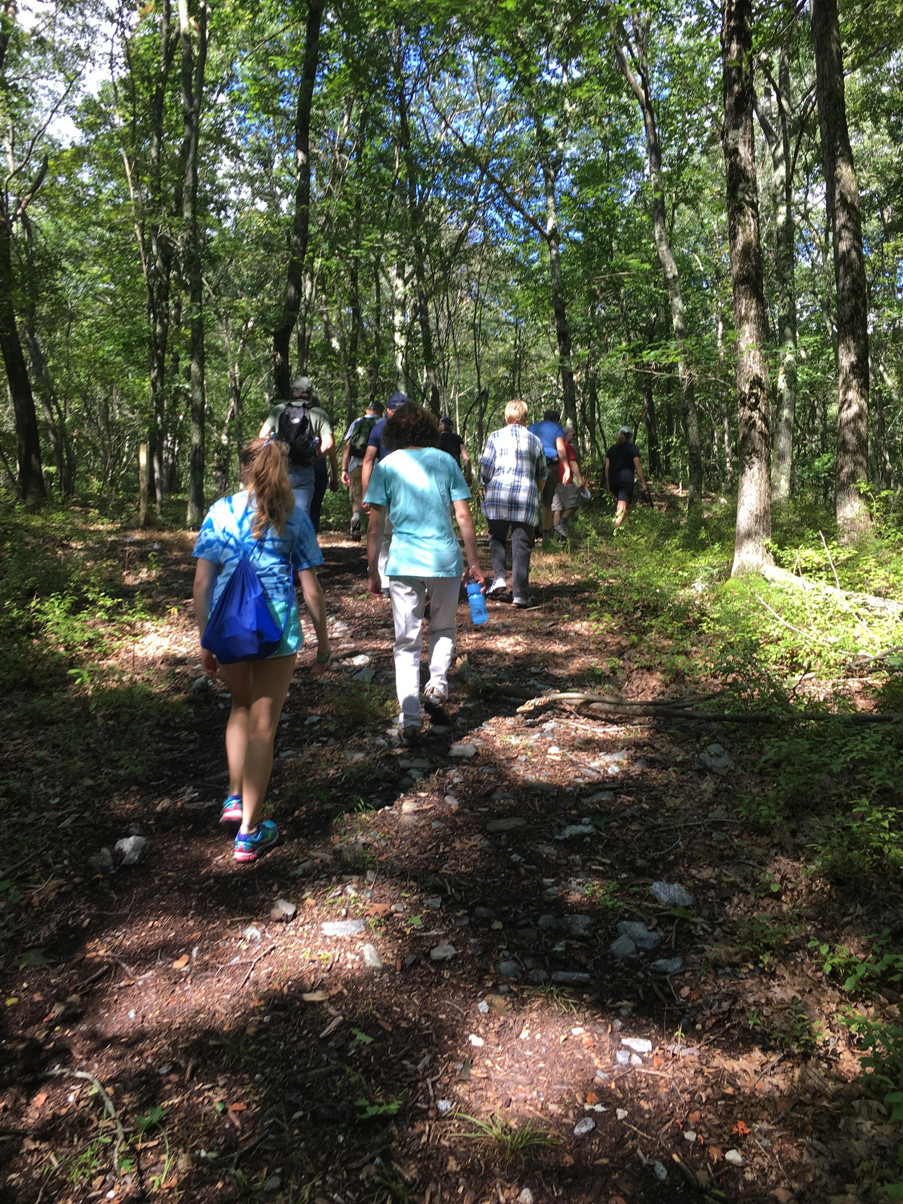 Nature Hike at Deer Pond Farm 2018