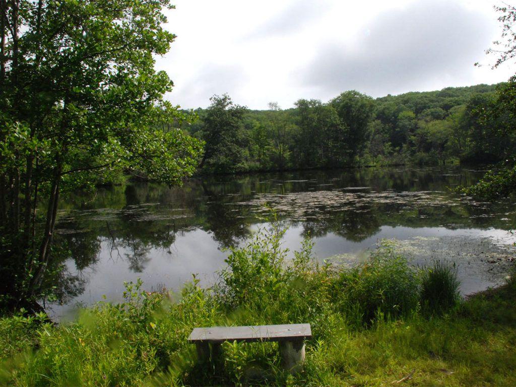Komlo view, Candlewood Valley Regional Land Trust