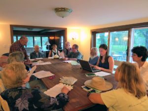 Candlewood Valley Regional Land Trust planning meeting
